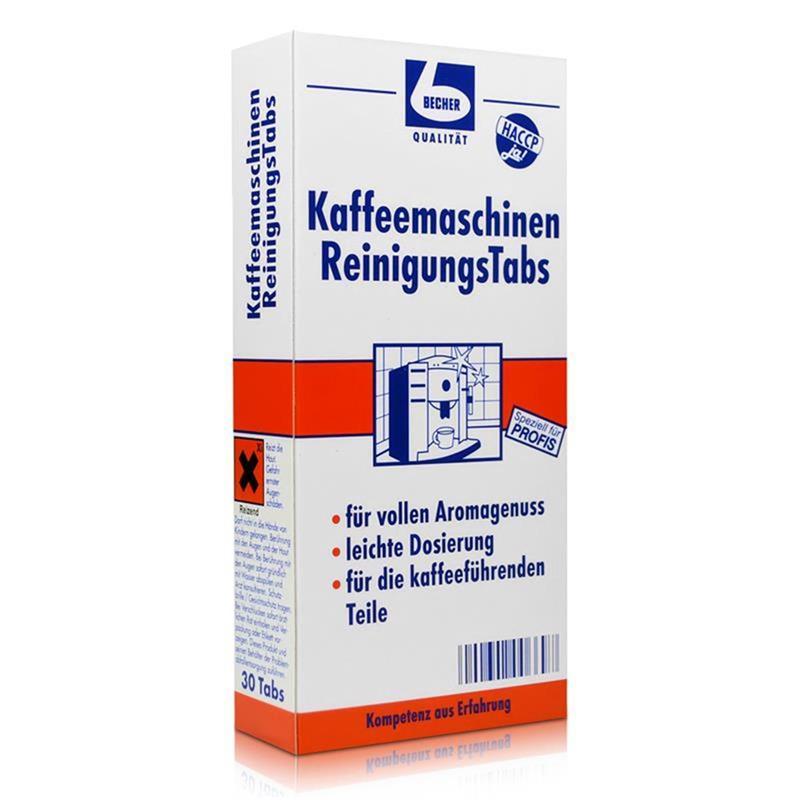 Dr. Becher Kaffeemaschinen Reinigungs Tabs 3x10 stk.
