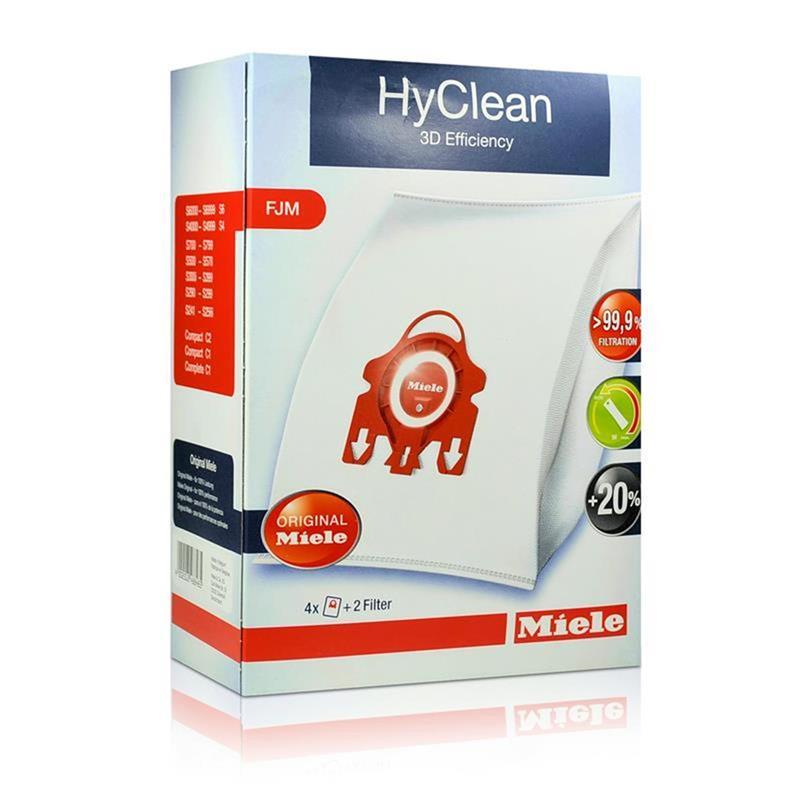 miele hyclean 3d fjm staubsaugerbeutel 4 staubbeutel. Black Bedroom Furniture Sets. Home Design Ideas