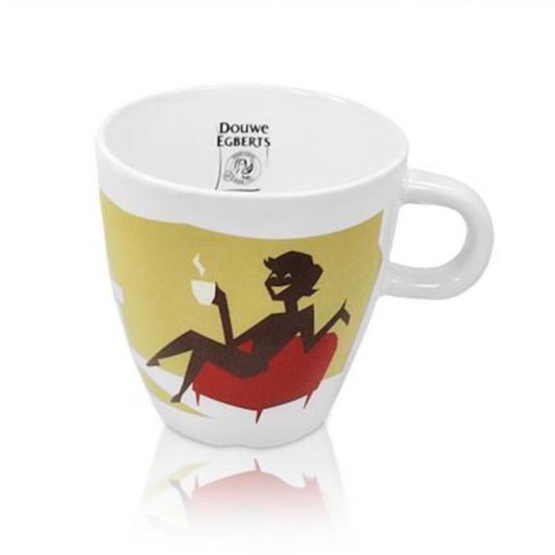 Senseo Douwe Egberts Design Tasse, 250 ml in rot