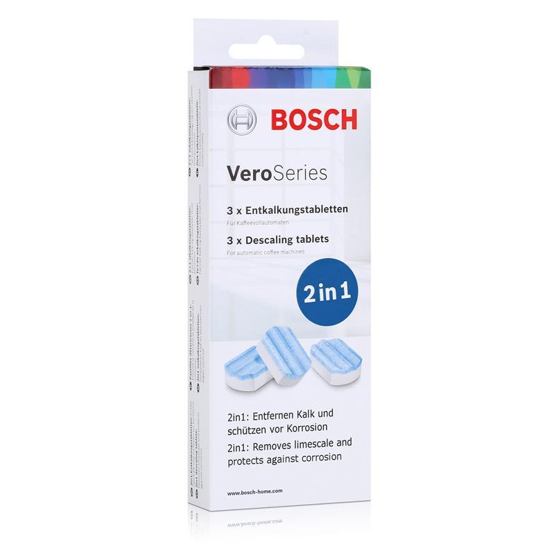 Bosch VeroSeries TCZ8002 Entkalkungstabletten 2in1 für Kaffeevollautomaten