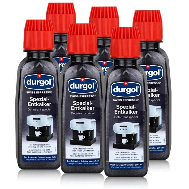 durgol swiss spezial espresso entkalker ded 6 flaschen a. Black Bedroom Furniture Sets. Home Design Ideas