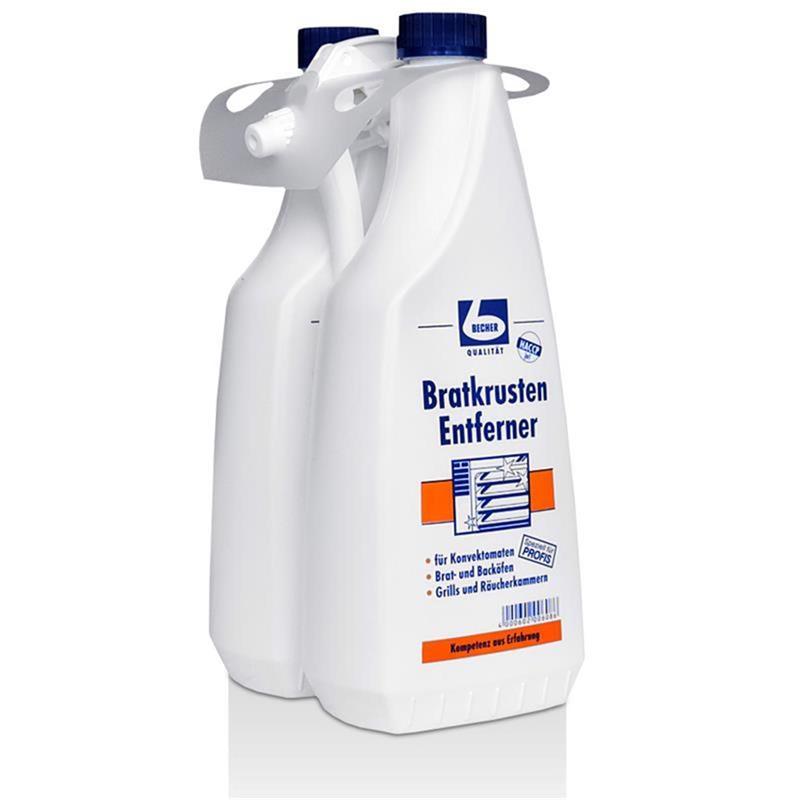 dr becher bratkrusten entferner 2 flaschen je 1 liter. Black Bedroom Furniture Sets. Home Design Ideas