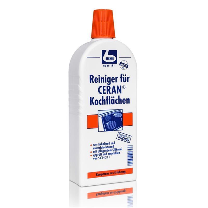 Dr. Becher Reiniger für Ceran Kochflächen / 500 ml