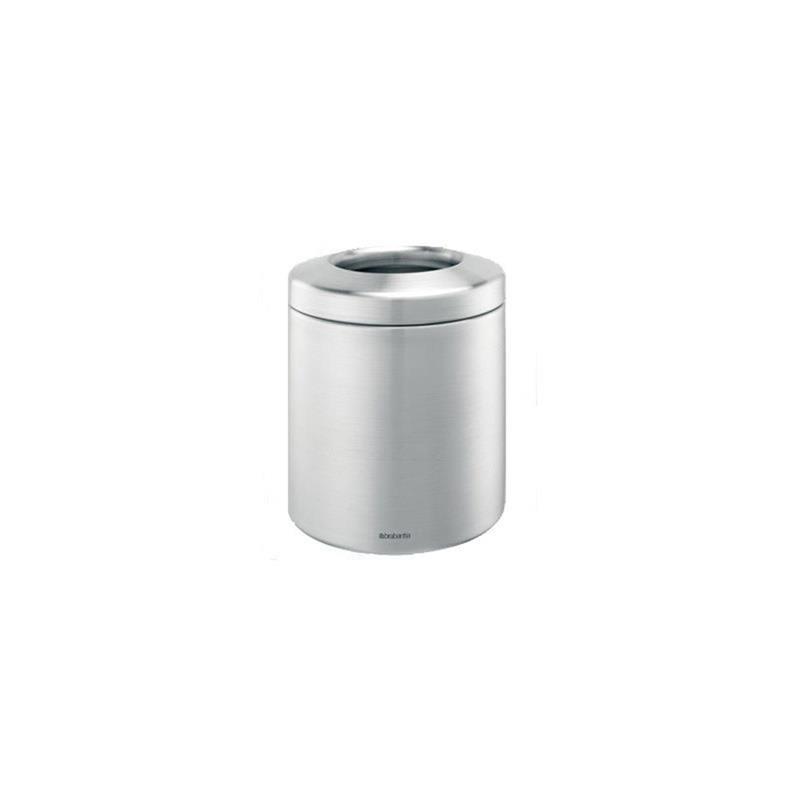 Brabantia Tischabfall-Behälter, 14x16,5cm, stahlmatt | eBay