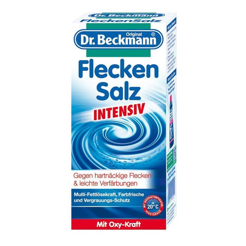 Dr Beckmann Flecken Salz Intensiv 500g Gegen Hartnackige Flecken