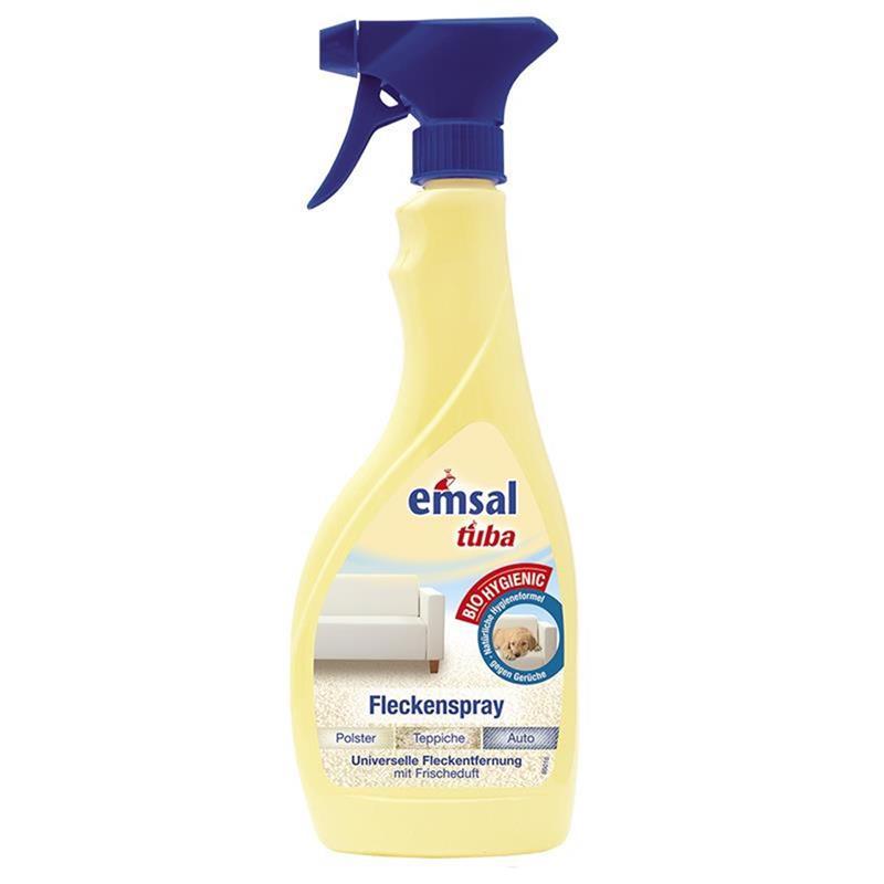 emsal tuba Fleckenspray 500 ml - für Polster, Teppiche und Auto geeignet