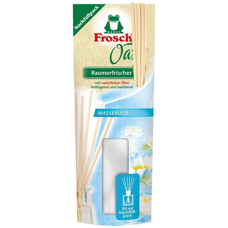 Frosch Oase Raumerfrischer Wasserlilie Nachfüllpack 90 ml