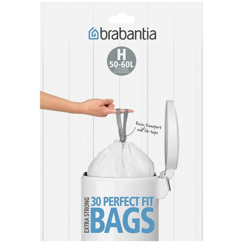 BRABANTIA Müllbeutel Spenderverpackung 50 l (H) 30 Stück