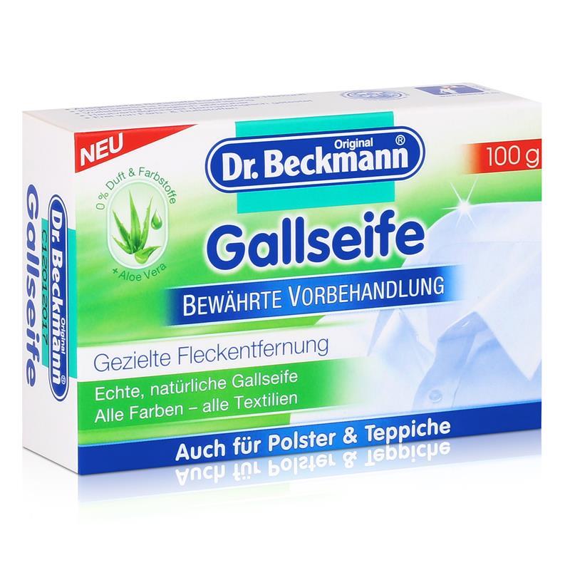 Dr. Beckmann Gallseife 100g Stück Gezielte Fleckentfernung