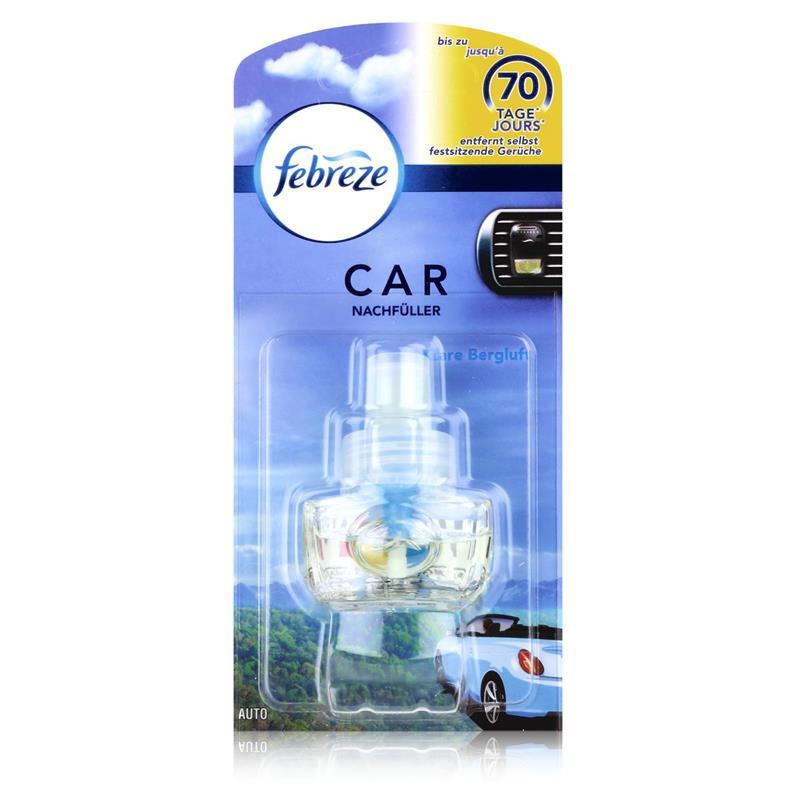 Febreze Car Fresh Escape Auto- Lufterfrischer Klare Bergluft Nachfüller ( 1er Pack )