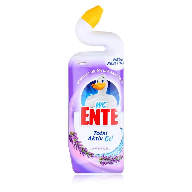 WC Ente 5in1 Lavendel 750 ml - Stark gegen Kalk mit Schutzfilm (1er Pack)