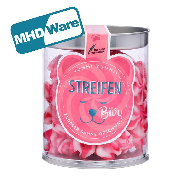 MHD Yummi Yummi Streifenbären mit Erdbeer-Sahne Geschmack 200g