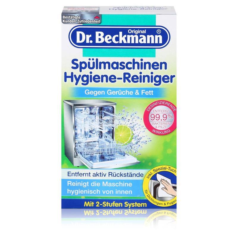 Dr. Beckmann Spülmaschinen Hygiene-Reiniger 75g - Entfernt aktiv Rückstände