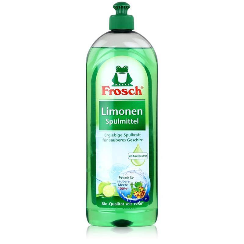 Frosch Spülmittel 750 ml mit fettlösenden Limonen- Extrakten