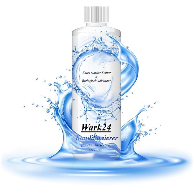Wark24 Wasserbett Konditionierer 250ml Wirkstoffgehalt 20%