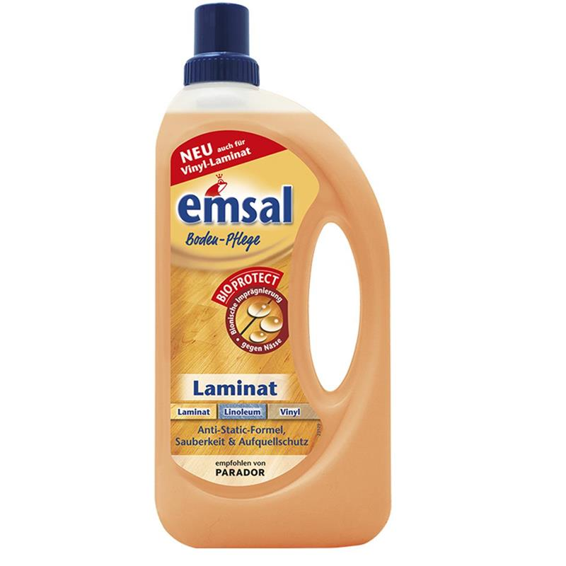 emsal boden pflege laminat 1 liter mit bioprotect f r laminat linoleum viny ebay. Black Bedroom Furniture Sets. Home Design Ideas