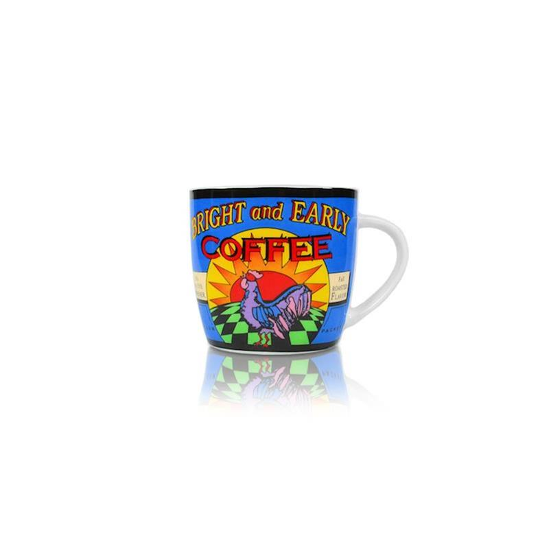 Blaue Kaffee Tasse im Kaffeehaus Style Design 2011 (250ml)