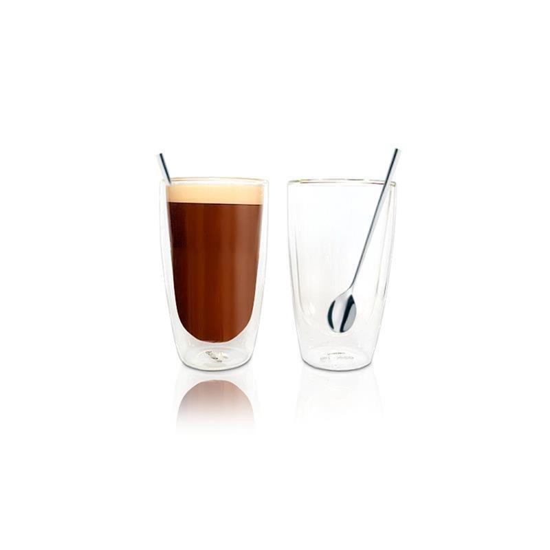 philips saeco hd7018 00 gl ser set latte macchiato 4 teilig. Black Bedroom Furniture Sets. Home Design Ideas