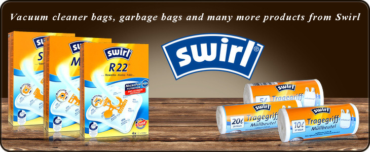 Household Utensils from Swirl - Whether vacuum cleaner bags or trash bags here you will find it