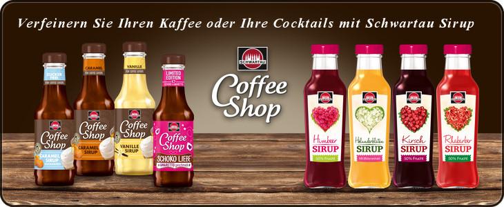 Schwartau Kaffeesirup für Ihren Kaffee, Tee oder Cocktail