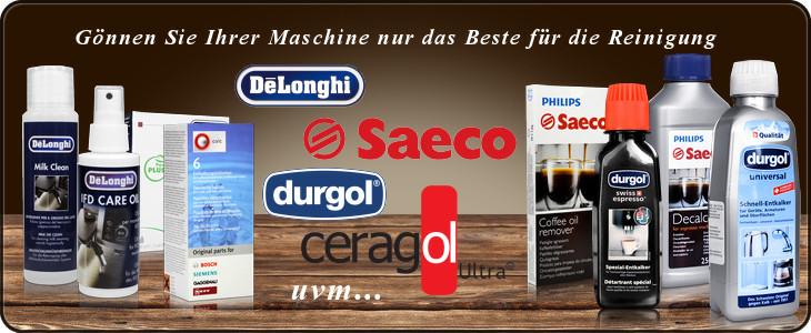 Die Beste Reinigung für Kaffeevollautomaten von Delonghi, Saeco, Durgol, WMF, Jura uvm.